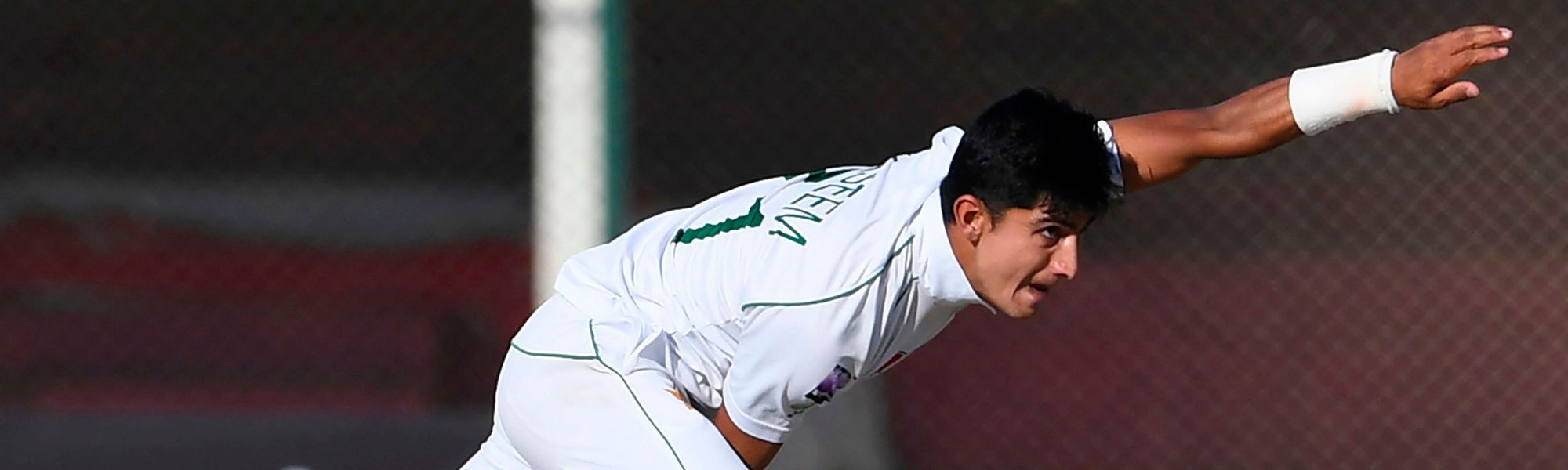 Naseem Shah bagged his first five-for in Test cricket