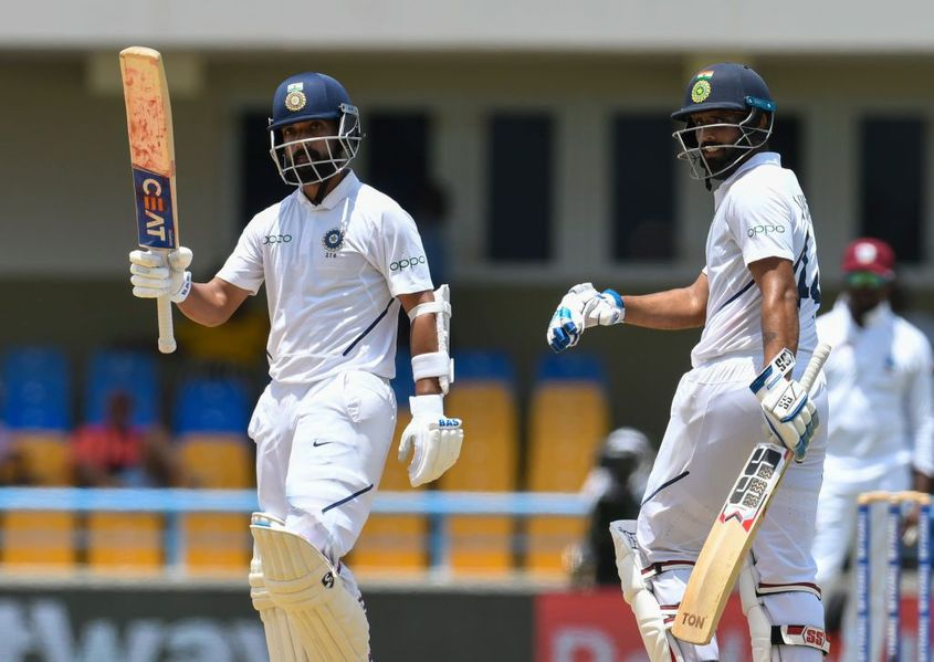 Rahane scored 271 runs at an impressive average of 90.33 in two Tests earlier this year in the West Indies
