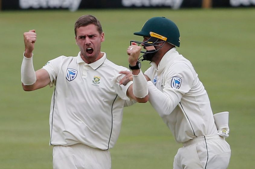 Anrich Nortje was the pick of the Proteas bowlers in the second innings
