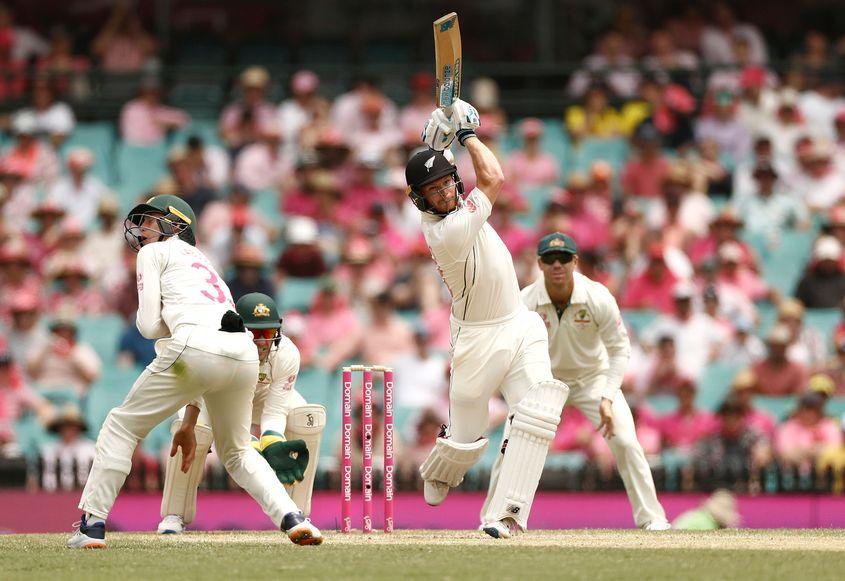 Debutant Glenn Phillips scored his maiden Test fifty