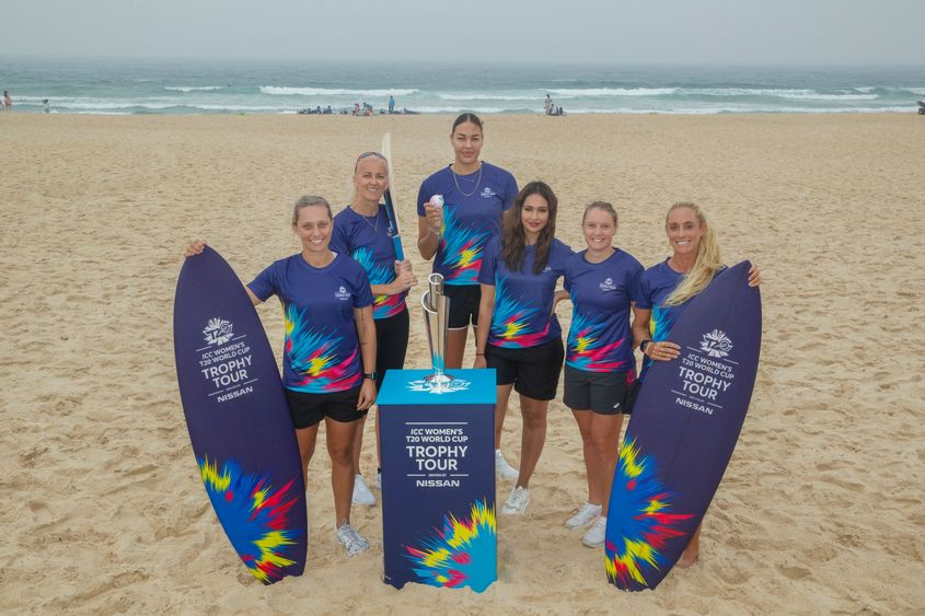 ICC Women's T20 World Cup Trophy Tour Launch, driven by Nissan