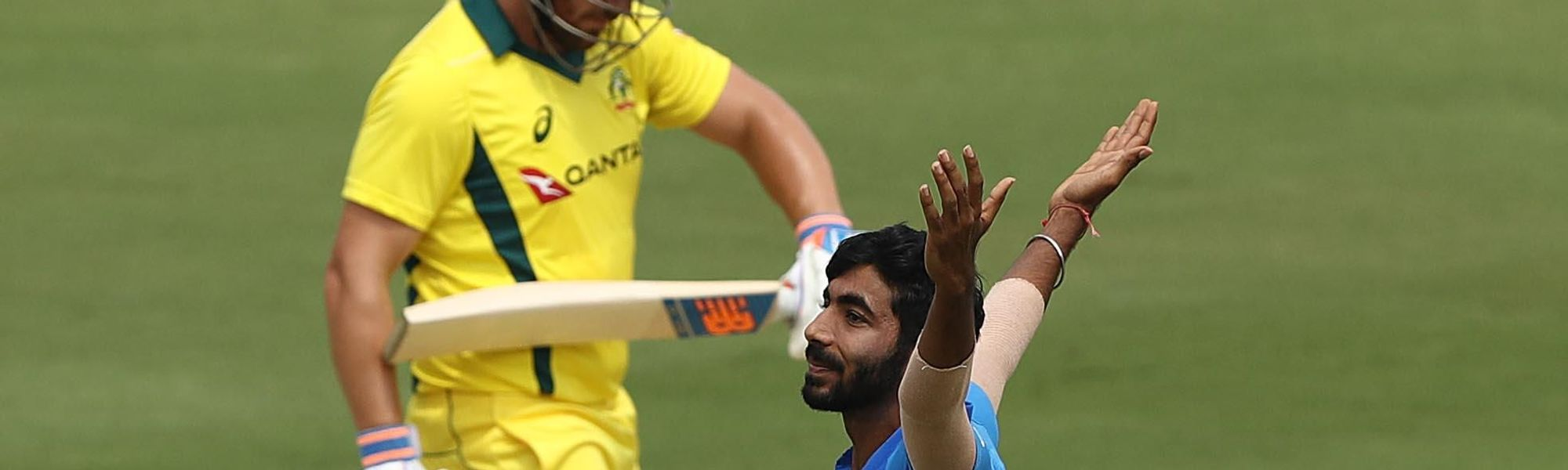 Finch feels Australia must refrain from overplaying the impact of Jasprit Bumrah