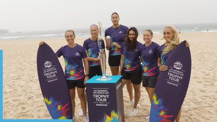 ICC Women's T20 World Cup Trophy Tour launch