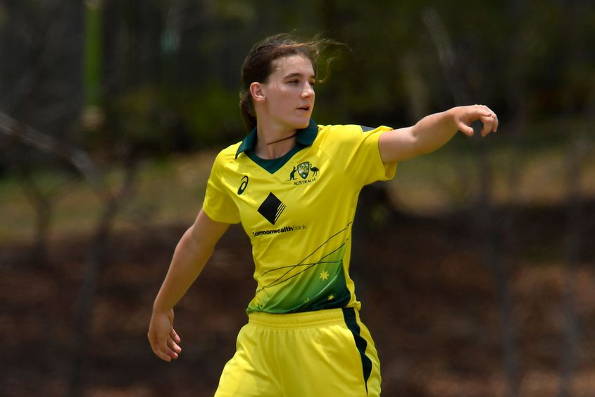 Annabel Sutherland impressed in a tri-series involving India and England