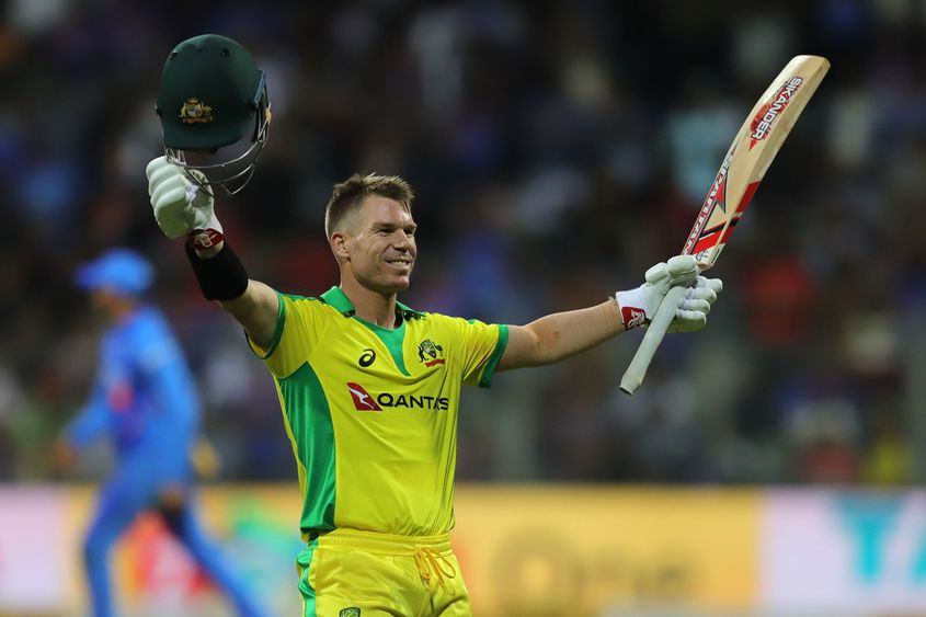 David Warner could not reproduce the good form he showed during Australia's home season in South Africa