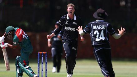 15 January - Johannesburg - New Zealand v Bangladesh warm-up match.