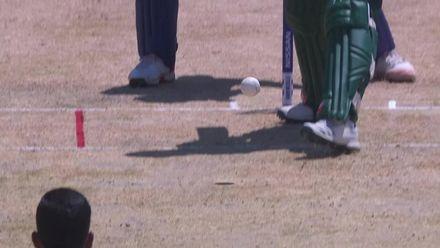 ICC U19 CWC: SA v AFG –Manje falls for a duck