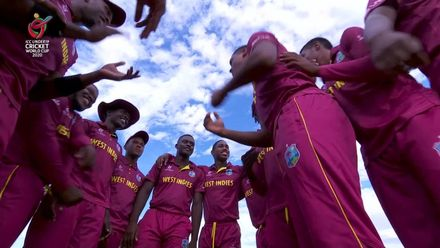 ICC U19 CWC: AUS v WI – West Indies celebrate tight victory over Australia