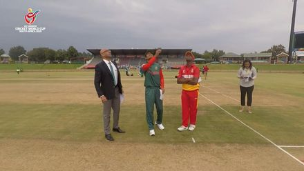 ICC U19 CWC, Match 2: Bangladesh opt to field