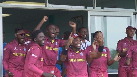 ICC U19 CWC: AUS v WI  – The winning moment