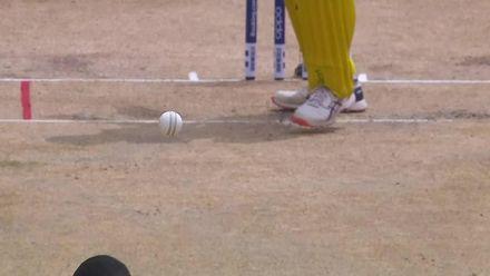 ICC U19 CWC: AUS v WI – Scott falls in the second over
