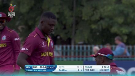 U19CWC_2020_MATCH5_AUSvWI_AUS_SEALES_BOWLING_HIGHLIGHTS