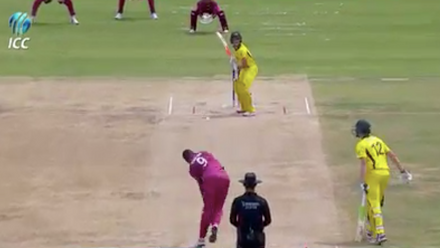 ICC U19 CWC: AUS v WI – Highlights of Australia's innings of 179