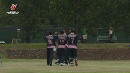 ICC U19 CWC: NZ v JPN – Rethareka clean bowls White for 80