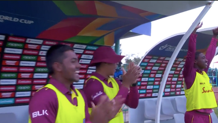 ICC U19 CWC: AUS v WI – Full highlights of West Indies' three wicket win
