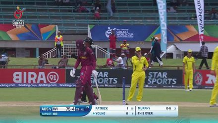 ICC U19 CWC: AUS v WI – Highlights of West Indies' successful run chase