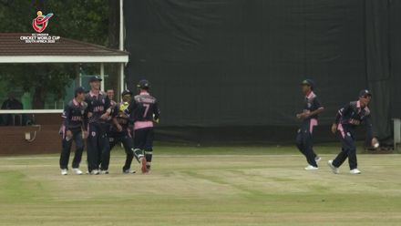 ICC U19 CWC: NZ v JAP – Ichiki takes excellent diving catch to dismiss Mariu