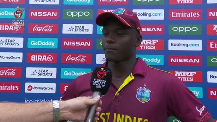 U19CWC_2020_MATCH5_AUSvWI_SEALES_FLASH_INTERVIEW