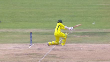 U19CWC_2020_MATCH5_AUSvWI_AUS_FORDE_BOWLING_HIGHLIGHTS