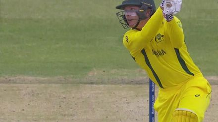 ICC U19 CWC: AUS v WI –Kelly falls to Forde for two
