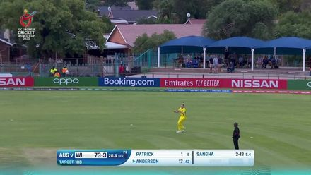 ICC U19 CWC: AUS v WI – The seven West Indies wickets to fall