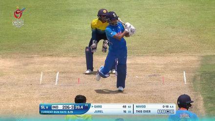 ICC U19 CWC: IND v SL – Highlights of Priyam Garg's 56