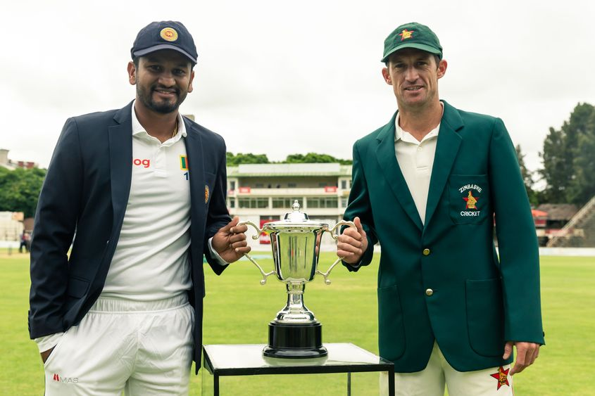 Test cricket was returning to Zimbabwe for the first time since 2017