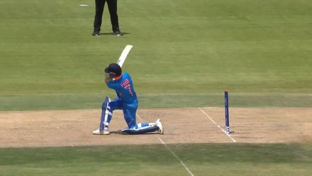ICC U19 CWC: IND v SL – Veer hits it out of the park