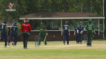 ICC U19 CWC: PAK v SCO – Naylor strikes in the first over for Scotland