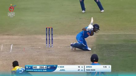 ICC U19 CWC: IND v SL – All the boundaries from the match