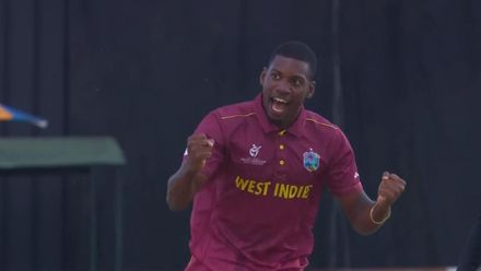 ICC U19 CWC: ENG v WI – Young's bouncer too good for Evison