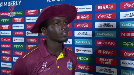 ICC U19 CWC: ENG v WI – Post-match presentation