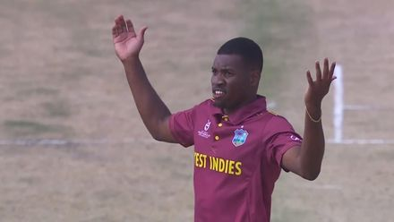 ICC U19 CWC: ENG v WI – All the wickets taken by Nyeem Young
