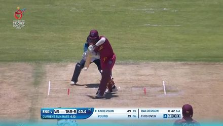 ICC U19 CWC: ENG v WI – Full highlights of West Indies' 71-run win (DLS)