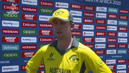 ICC U19 CWC: AUS v NGR – Highlights of Australia's 10-wicket victory