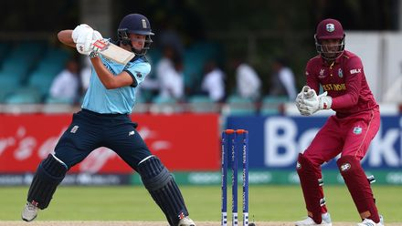 20 January - Kimberley - Group B - 8th Match: England v West Indies