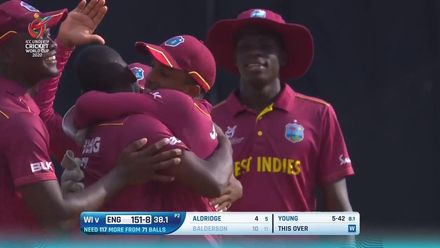 ICC U19 CWC: ENG v WI – Young bags a five-wicket haul