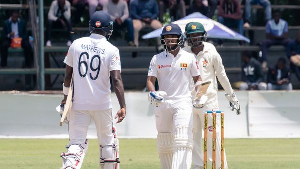Steady batting leads Sri Lankan response in Harare