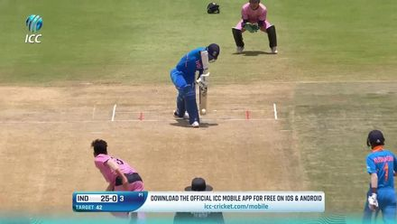 ICC U19 CWC: IND v JPN –Jaiswal hits rapid 28* in run chase
