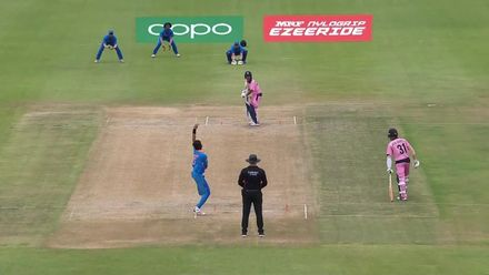 ICC U19 CWC: IND v JPN –Ball hit stumps but the bail remains unmoved