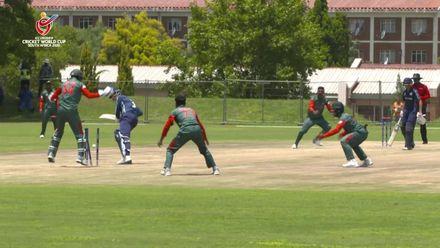 ICC U19 CWC: BAN v SCO – Rakibul Hasan takes a hat-trick