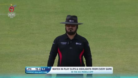 ICC U19 CWC: IND v JPN –Bishnoi takes first four wickets without conceding a run
