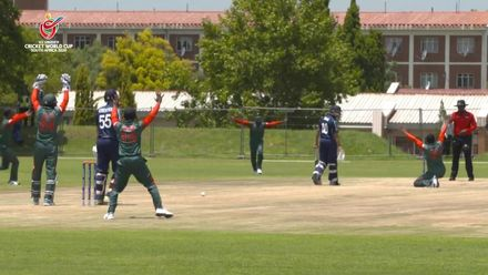 ICC U19 CWC: BAN v SCO – Full highlights of Bangladesh's seven-wicket win