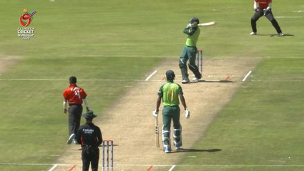 ICC U19 CWC: SA v CAN – Jonathan Bird soars to 54