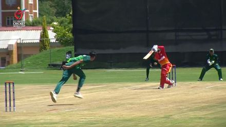 ICC U19 CWC: PAK v ZIM – Madhevere unleashes a flurry of fours