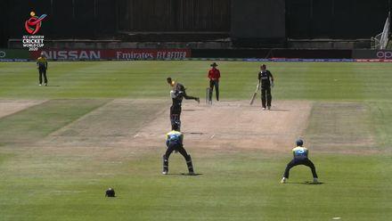 ICC U19 CWC: NZ v SL – Rhys Mariu hits identical fours back-to-back