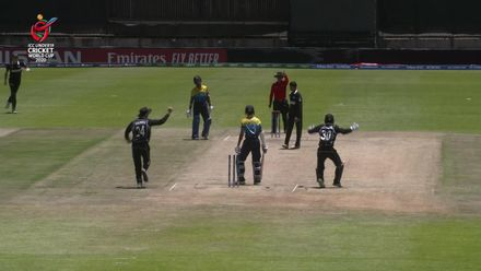 ICC U19 CWC: NZ v SL – Ashok snares two in an over