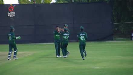 ICC U19 CWC: PAK v ZIM – Thaheem breaks strong opening stand