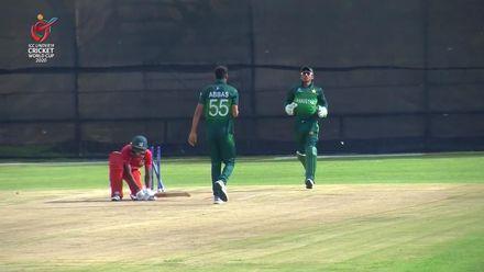 ICC U19 CWC: PAK v ZIM – Abbas Afridi ends Shumba's resistance