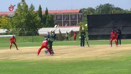 ICC U19 CWC: PAK v ZIM – Shumba gets the first breakthrough for Zimbabwe